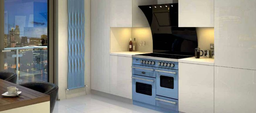 blue range cooker