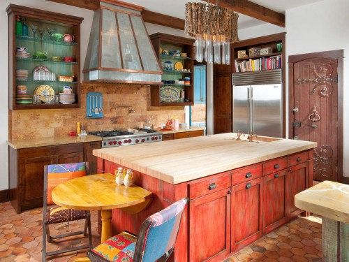 Mediterranean Kitchen Inspiration from HGTV and Appliance City