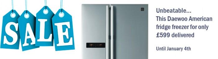 £599 delivered.. unbeatable American Style Fridge Freezer