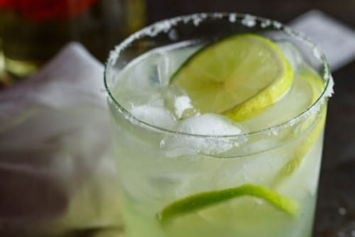 chili lime infused margarita