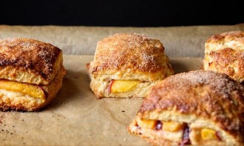 peach-scones