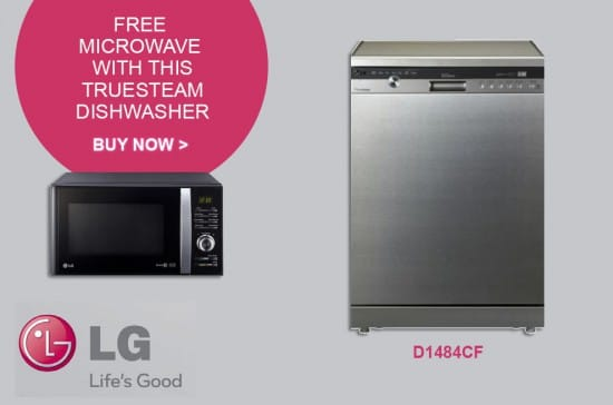 Free Microwave on selected Dishwashers | Appliance City EXCLUSIVE