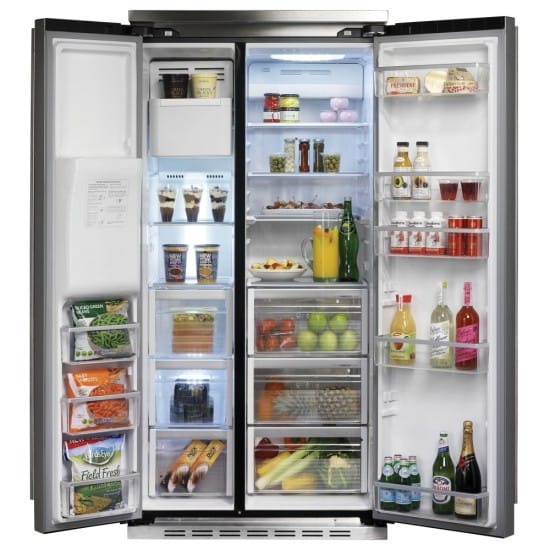 Falcon FSXS628BLC - American Style Fridge Freezer Ice & Water | Appliance City