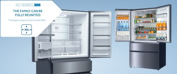 NEW Haier 4D Series 100 - 4DS100 Fridge Freezer | Largest Capacity - 685 litres