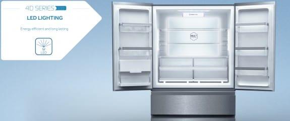 NEW Haier 4D Series 100 - 4DS100 Fridge Freezer | LED Lighting