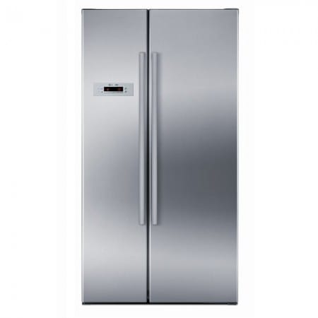 £150.00 cash back on the Bosch KAN62V41GB - American Fridge Freezer Non Ice & Water | Appliance City