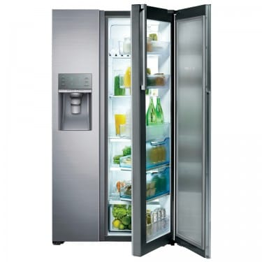 £200 cash back on the Samsung RH57H90507F - Food ShowCase Fridge Freezer With Ice & Water