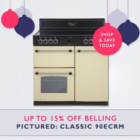 UP TO 15% OFF Belling Range Cookers | FREE Christmas Delivery | Appliance City