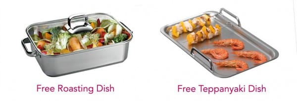 Free Roasting Dish or Teppanyaki Plate with selected Siemens Hobs   Appliance City