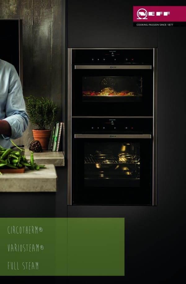 CircoTherm | VarioSteam & Full Steam | MultiPoint Meat Probe - The New Neff Built-In Oven - New Oven Big Ideas Launching Spring 2015 | Appliance City