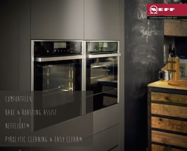 ComfortFlex | Baking & Roasting Assistant | Neff Light | Pyrolytic Cleaning - The New Neff Built-In Oven - New Oven Big Ideas Launching Spring 2015 | Appliance City