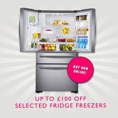Up to £100 off American Fridge Freezers | Appliance City
