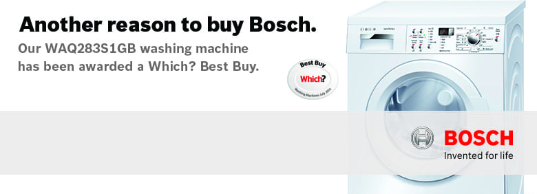 Which? Best Buy Bosch Washing Machine