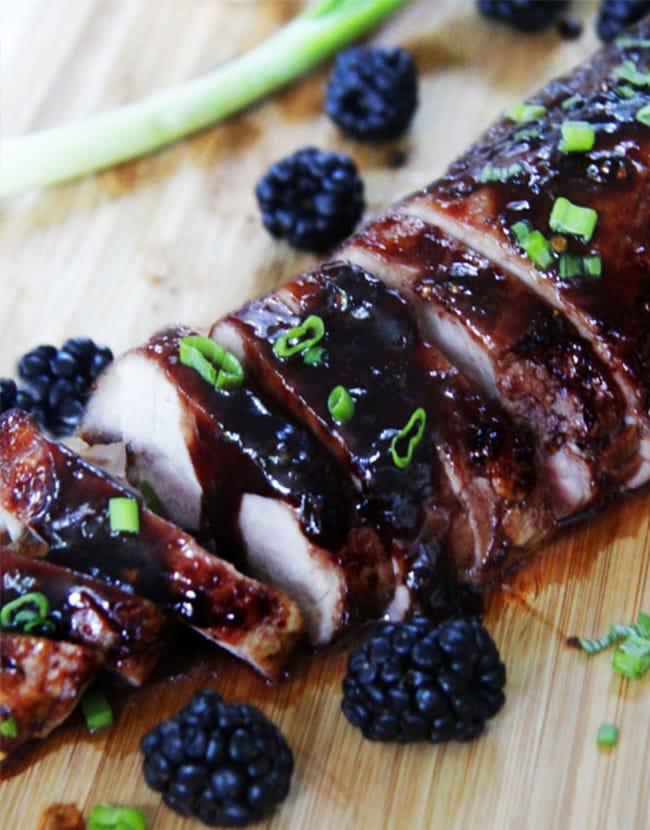 Blackberry Hoisin Ginger Pork Tenderloin - Recipes - Appliance City