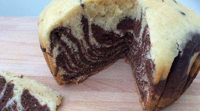Appliance City - Recipes - One Pot Dishes - Zebra Cake
