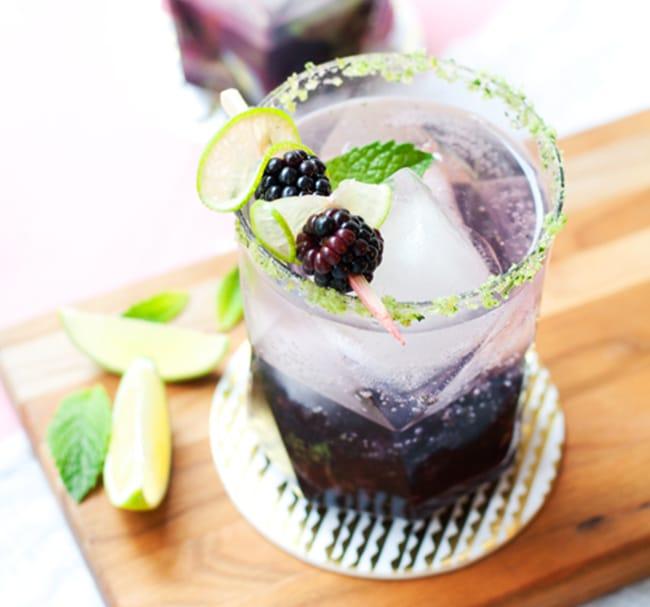 Blackberry Ginger Smash - Recipe - Appliance City