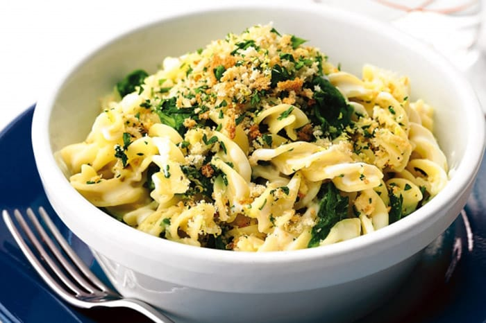 Appliance City - recipes - Creamy spinach fusilli