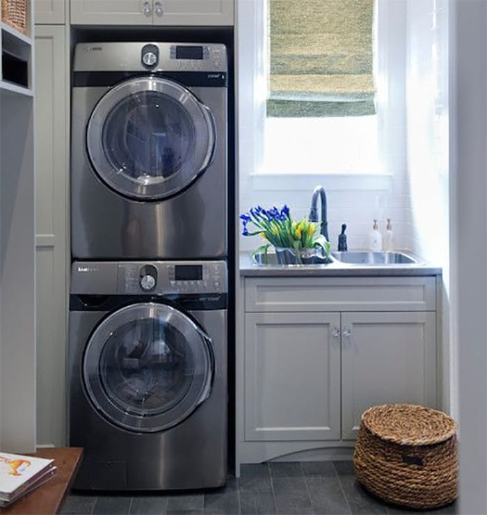 Style And Storage Ideas For Small Laundry Spaces