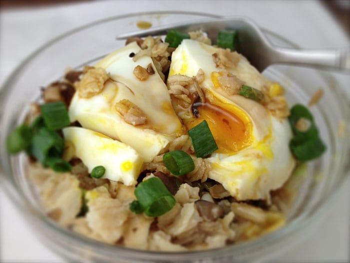 Appliance City - World Porridge Day - Savoury Porridge with Poached Egg