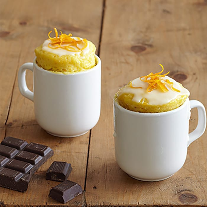 Mug Cake - Recipes - Orange and Chocolate Chip - Appliance City