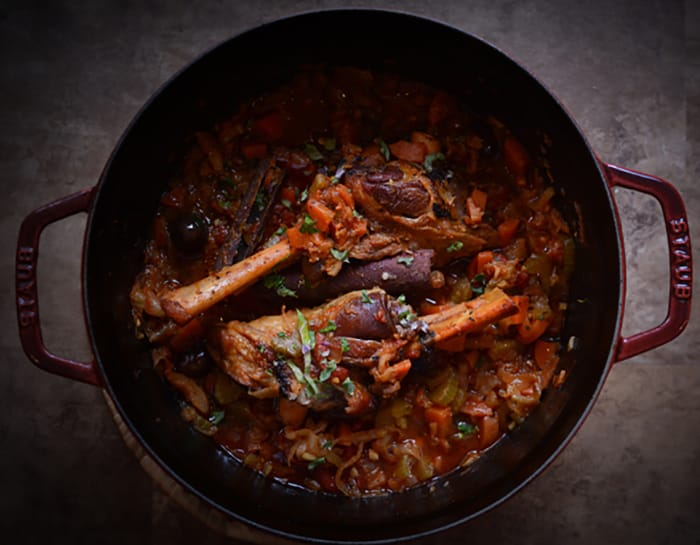 Appliance City - Food and Wine - Recipes - Braised Lamb Shanks