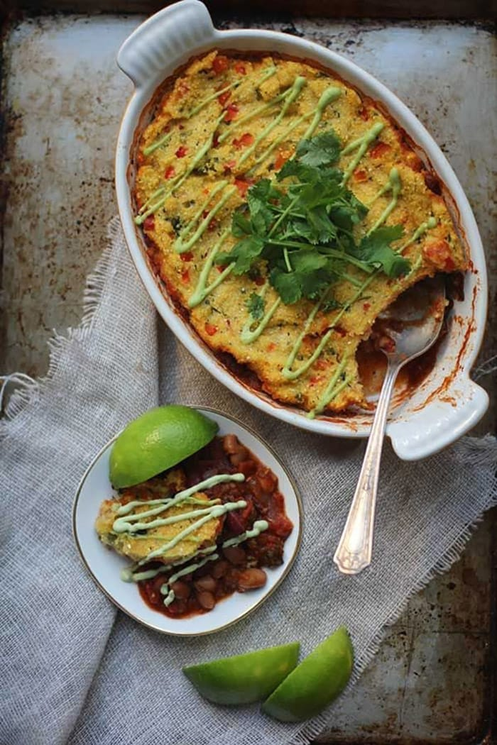 Recipes with a twist - chili polenta pie - appliance city - recipes