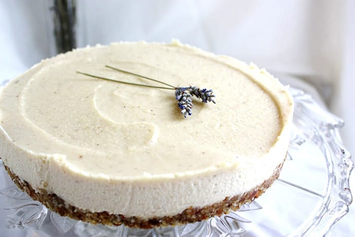 Vegan Recipes - Lemon and Lavender Cheesecake - Appliance City