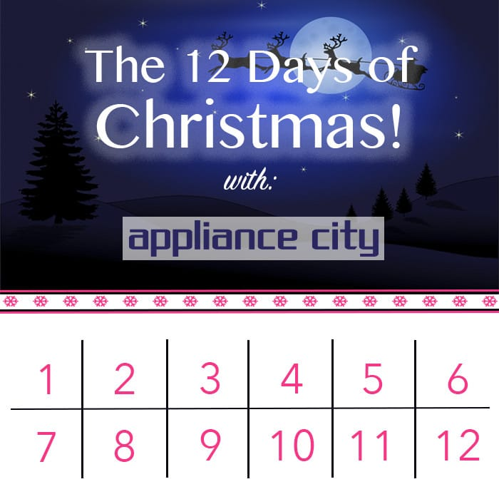 12 Days of Christmas Event at Appliance City