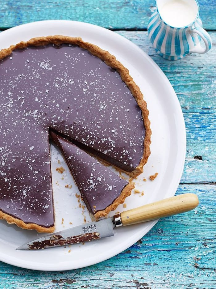 Pastry Day - Recipes - Rich Chocolate Tart with Salt flakes - Appliance City
