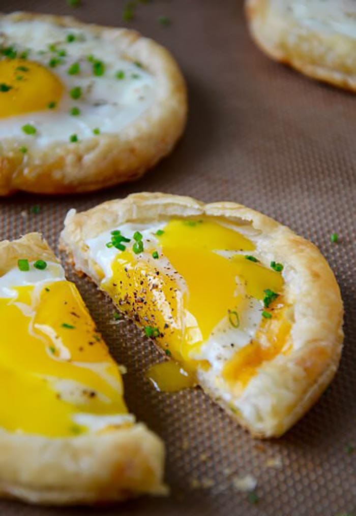 Pastry Day - Recipes - Puff Pastry Baked Eggs - Appliance City