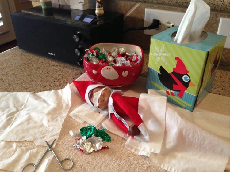 Holiday hacks - Appliance City - Bendable Elf on a Shelf