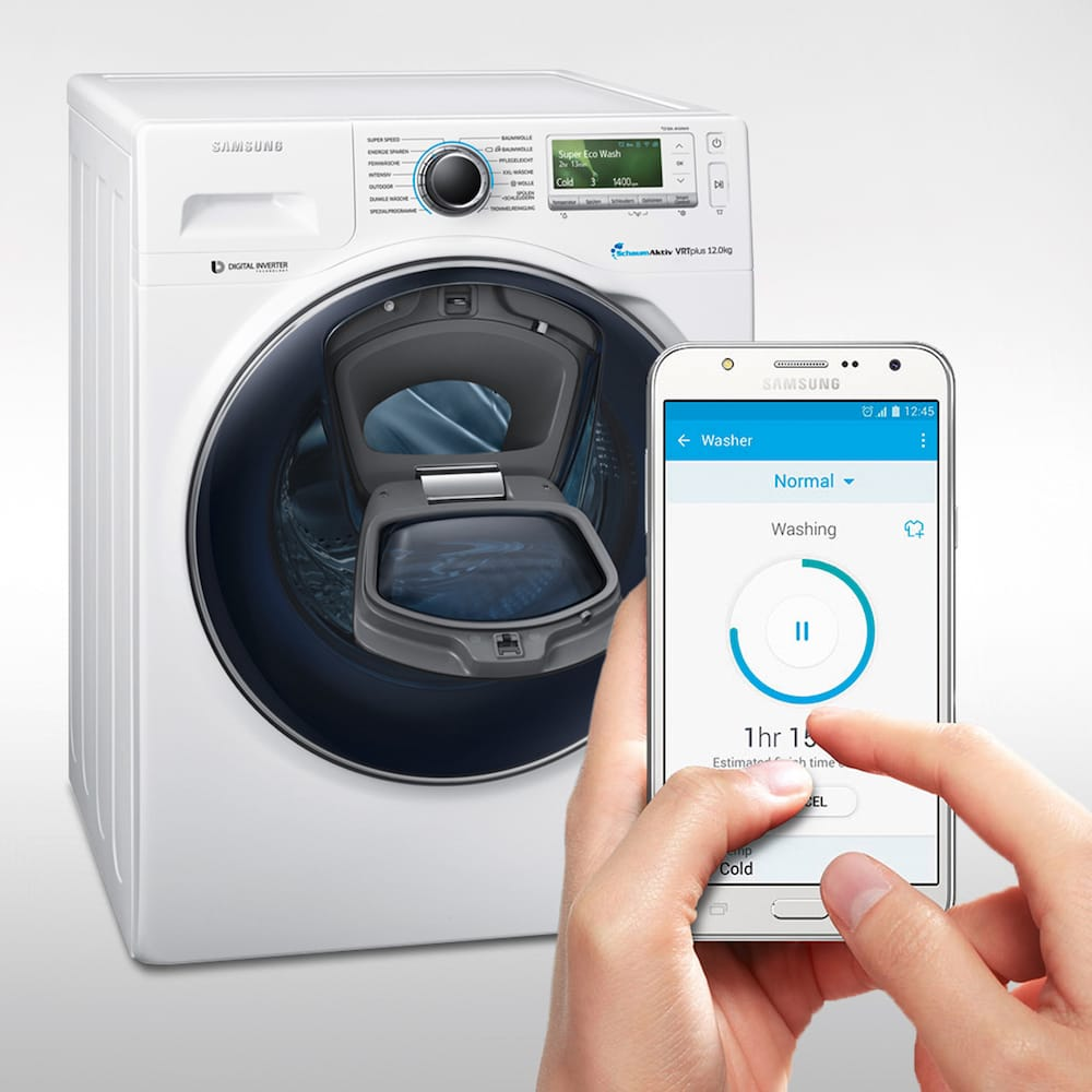 The Samsung AddWash Smartphone technology